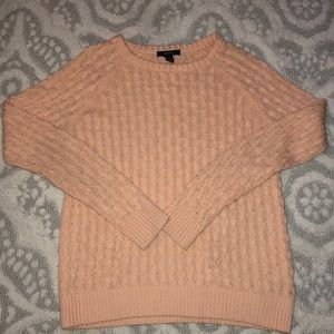 Light coral/pink knitted sweater from Forever 21
